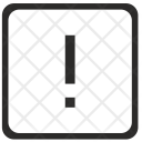 Exclamation Mark Element Icon