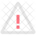 Exclamation In Triangle Traffic Sign Alert Icon