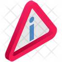 Logistics Delivery Exclamation Icon