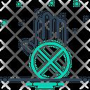 Exclusion Cancel Negation Icon