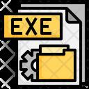 Exe File File Folder Icon