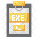 Exe File Exe Document File Format Icon