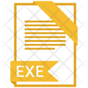 Exe Format Document Icon