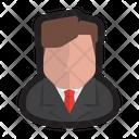 Executive Businessman Man Icon