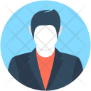 Executive Businessman Accountant Icon