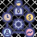 Businessman Employee Executive Icon