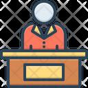 Executive Controller Managerial Icon