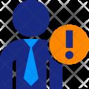Interrogant Business Man Icon