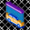 Continuous Car Wash Icon