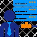 Executive Database Computer Icon