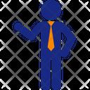 Executive Pose Icon