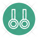 Exercise Rings Flying Icon