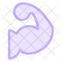 Exercise Fitness Muscles Icon