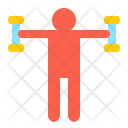 Exercise Muscle Strong Icon