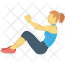 Exercise Fitness Stretching Icon