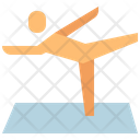 Exercise Work Out Yoga Icon