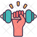 Exercise Hand Self Care Icon