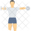 Exercise Fitness Gym Icon