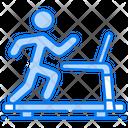 Fitness Club Gym Running Icon