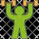 Exercise Training Weight Icon