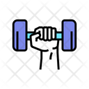 Sport Exercise Color Icon