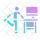 Exercise Office Health Icon