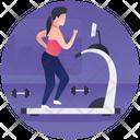 Treadmill Gym Equipment Treadmill Exercise Icon