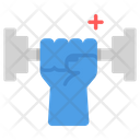 Exercise Fitness Dumbell Icon