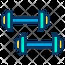 Dumbbell Dumbbells Fitness Icon
