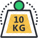 Exercise Fitness Weight Icon