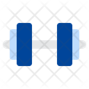 Exercise Barbell Dumbbell Icon