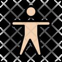 Exercise Yoga Fitness Icon