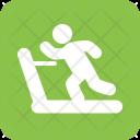 Exercise Treadmill Gym Icon
