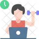 Exercise And Work Icon