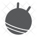 Exercise Ball Rubber Icon