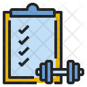 Exercise checklist Icon