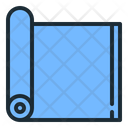Exercise Mat Fitness Gym Icon