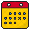Exercise Schedule Icon
