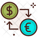 Exhange Back Exchange Currency Transfer Currency Icon