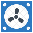 Exhaust Fan Computer Icon