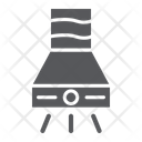 Exhaust Hood Fan Icon