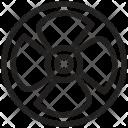 Exhaust Fan Blower Icon
