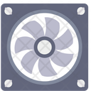 Exhaust Fan Airflow Icon