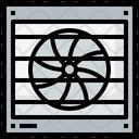 Exhaust Fan Electronics Refreshing Icon