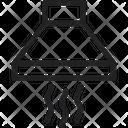 Chimney Exhaust Hood Hood Icon