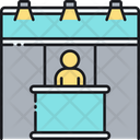 Exhibition Show Stand Icon