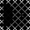 Exit Gate Door Icon