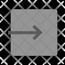 Logout Exit App Icon