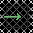 Exit App Logout Icon