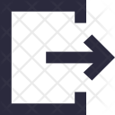 Exit Logout Arrow Icon